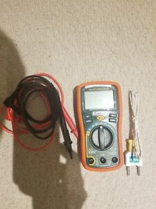Extech Multimeter With K type Thermocouple