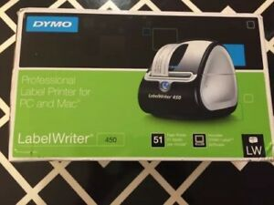 New Dymo Labelwriter 450 Thermal Label Printer Mac And Pc 51 Labels Per Min