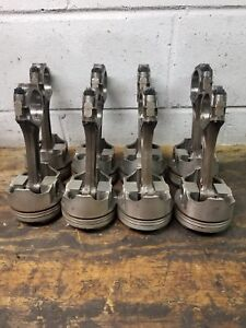 Bbc 454 030 Forged Pistons With Thumb Rods Arp Bolts Ls6 Ls7 Chevy Chevrolet