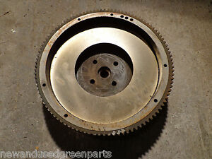 John Deere 420 430 Live Pto Flywheel Am3406t Turned Ready To Use No Core
