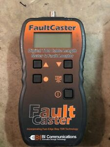 Bi Communications Fault Caster Cable Tester Troubleshooting