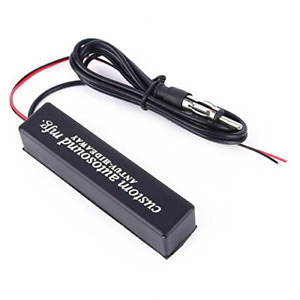 Hidden Amplified Antenna Am Fm Radio Stereo Antenna For Car Truck Motorcycle