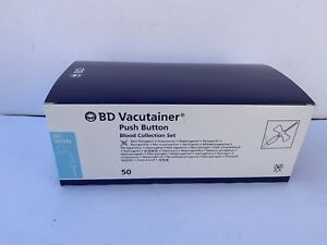 1 Box Bd Vacutainer Push Button Blood Collection Set Ref 367324