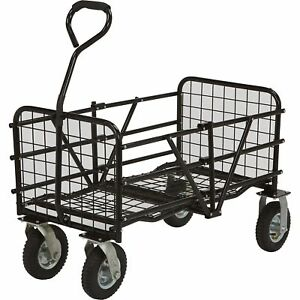 Folding Utility Cart 49in l X 25 1 2in w 330 lb Capacity