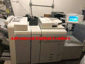Canon Imagepress Color C800 Copier printer W Finisher Lct Server G100