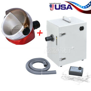 Usa Dental Digital Single row Dust Collector Vacuum Cleaner Suction Base
