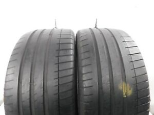2 Michelin Pilot Sport 3 Ao 255 35zr19 96y Used Tire
