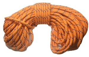 Double Braid Polyester 3 4 x150 Ft Arborist Rigging Tree Bull Rope