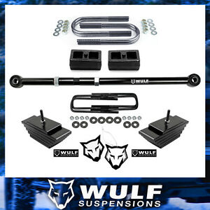 3 Front 2 Rear Leveling Lift Kit W Track Bar For 2000 2005 Ford Excursion 4x4