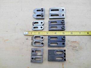 Machinists Milling Machine Hold Downs Straps Clamps 8 Pairs