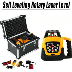 Red Beam Self leveling Horizontal Vertical Laser Level W Tripod