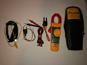 Fluke 902 True Rms Hvac Clamp Meter With Fluke Leads And Temp Probes And More
