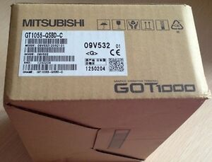 New In Box Mitsubishi Hmi Gt1055 qsbd c gt1055qsbdc rs8