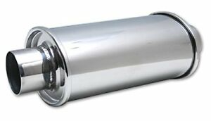 Vibrant 1140 2 25 Ultra Quiet Resonator Made From T304 Stainless Steel
