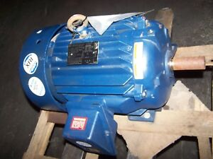 New Marathon 20 Hp Ac Electric Motor 256t Frame 460 Vac 3537 Rpm