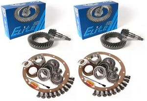 97 08 Ford F150 8 8 4 56 Ring And Pinion Master Install Complete Elite Gear Pkg