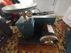 Marvac Scientific Mfg Aa1 9 High Vacuum Pump System With Top Plate