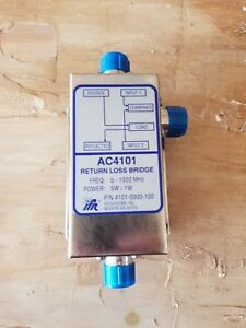 Ifr Ac4101 Return Loss Bridge 5w 1w 5 1000mhz P n 4101 0000 100 Clean