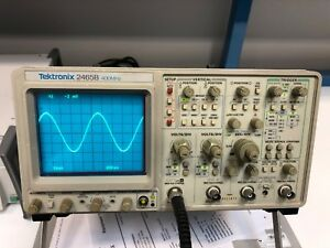 Tektronix 2465b Oscilloscope 400mhz 4 channel Calibrated
