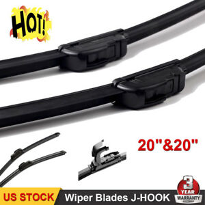 20 20 Inch All Season Oem Quality Beam Windshield Wiper Blades set Of 2 Us