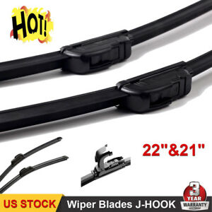 22 21 Inch All Season Oem Quality J Hook Bracketless Windshield Wiper Blades