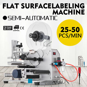 Semi automatic Labeller Lt 60 Labeling Machine 110v Useful Commercial 200w