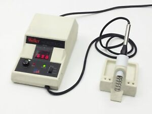 Weller Mt1000 Microtouch Soldering Iron Station W Tip iron Stand Mt 1000 120v