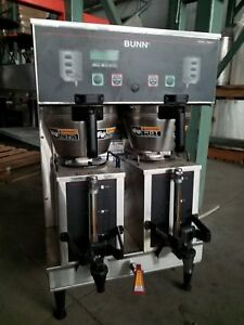 Commercial Bunn Coffee Maker Dual Brewer Gpr Dbc Digital Hot Water Portable Urns