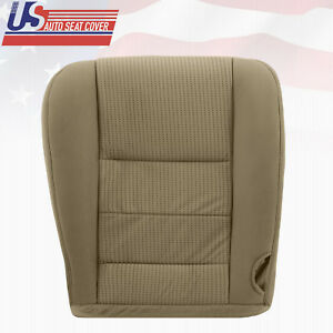 2008 2009 Ford F250 Xlt Driver Bottom Cloth Seat Cover Replacement In 2tone Tan