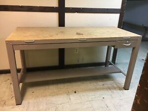 Hamilton Drafting Table Base Only