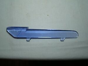 1946 Chevy Hood Ornament Insert 46 Blue Insert 46 Chevy Flying Lady Insert Coupe