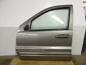 Oem 99 04 Jeep Grand Cherokee Front Driver Side Door Free Shipping Commercial