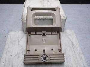 Oem 2000 Ford Expedition Parchment Tan Rear Center Console Climate