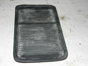 Oem 1998 Ford Expedition Center Console Cup Holder Bottom Tray Rubber Grip Mat