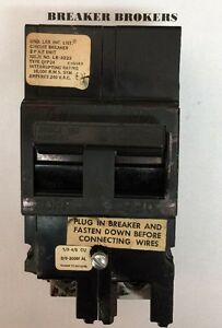 Zinsco 150 Amp Circuit Breaker Qfp Priority Ships Same Day Cosmetic Chip