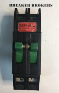 Zinsco Sylvania Gte 100 Amp 2 Pole Rc38al Circuit Breaker Perfect Ships Today