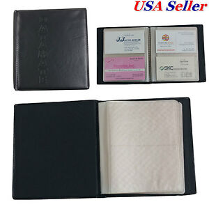 6 Pcs X 80 Cards Business Name Id Credit Card Holder Book Case Keeper Organizer
