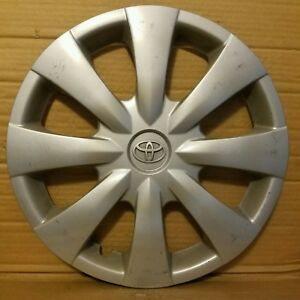 Toyota Corolla 2009 2013 15 Oem Hubcap Wheel Cover 496ds