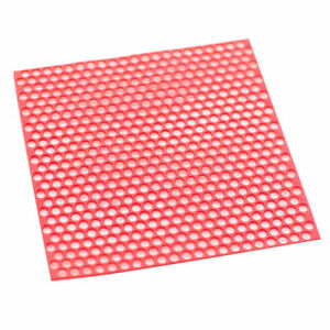 10 Sheets box Dental Red Round Hole Patterns Wax Casting Red For Lab Supplies