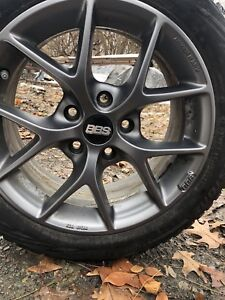 Bridgestone Blizzak Ws80 195 55 R16 87h Sl Tires With Bbs Rims