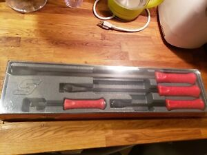Snap on Spbs704ar 4 Peice Pry Bar Set Brand New 8 12 18 24