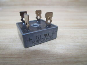 General Instrument Kbpc10 06 Bridge Rectifier