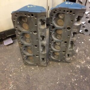 1956 73 Chevy 283ci 307ci 327ci Cylinder Heads 3911032 Dated E148