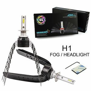 H1 60w 8000lm Csp Led Headlight Kit Conversion Car Bulbs Xenon 6500k High Power