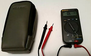 Fluke 16 Multimeter With Soft Case Fluke Leads Included Digital Display Dmm
