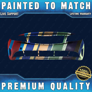 New Painted To Match Front Bumper Cover For 2017 2018 Kia Forte Sedan 4 door