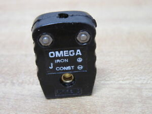 Omega J Thermocouple Connector Type J pack Of 21