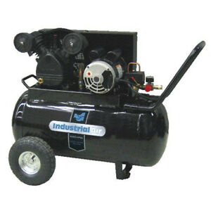 Industrial Air 1 6 Hp 20 Gallon Electric Air Compressor Ip1682066 mn New