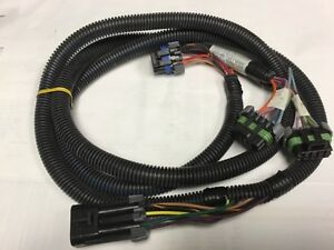 New Western Fisher Snow Plow Light Harness 26638 7 Pin 4 Port Chevy Gmc