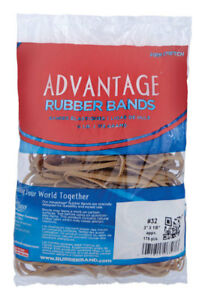 Case Of 40 Bags Of Alliance Advantage Latex Rubber Bands